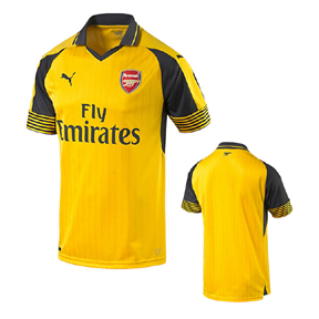 Puma Youth Arsenal Soccer Jersey (Away 16/17)