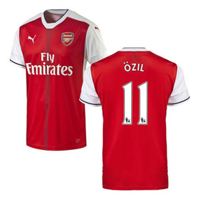 Puma Youth Arsenal Ozil #11 Soccer Jersey (Home 16/17)