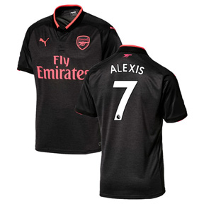 Puma Youth Arsenal Alexis #7 Soccer Jersey (Alternate 17/18)