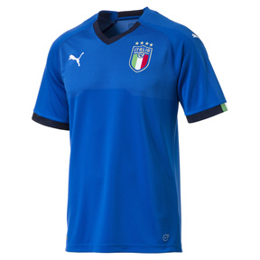 Puma  Italy  World Cup 2018 Soccer Jersey (Home 17/18)
