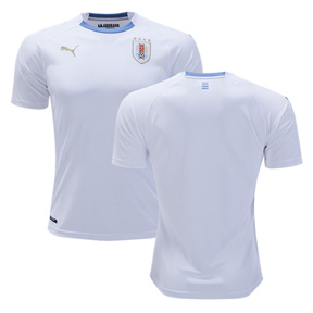 Puma  Uruguay World Cup 2018 Soccer Jersey (Away)