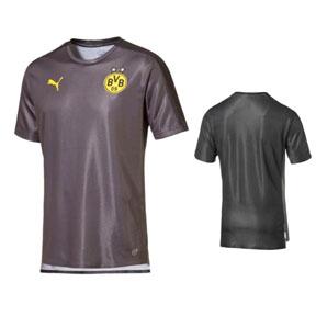 the latest f5ed8 c3856 Puma Borussia Dortmund BVB Stadium Training Soccer Jersey ...