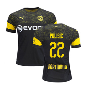 premium selection 760be 44668 Puma Borussia Dortmund BVB Pulisic #22 Soccer Jersey (Away ...