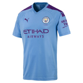 Puma Youth  Manchester City  Soccer Jersey (Home 19/20)