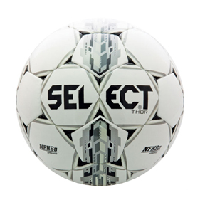 Select Thor NFHS Soccer Ball (White/Black)