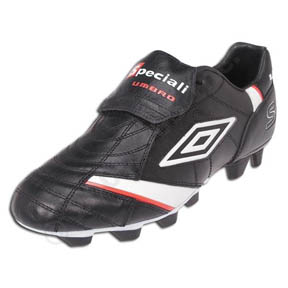 Umbro Speciali Premier KTK FG Soccer Shoes (Black/White/Red)