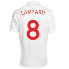 Umbro England Lampard #8 Soccer Jersey (Home 10/11)