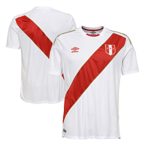 Umbro  Peru World Cup 2018 Soccer Jersey (Home)