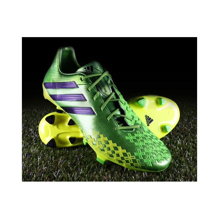 reputable site 9c758 f200b Click here to view alternate adidas Predator LZ (Ray Green) image  3
