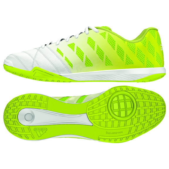 adidas FreeFootball Top Sala Indoor Soccer Shoes (Yellow Glow ... 6687f10a1fb2