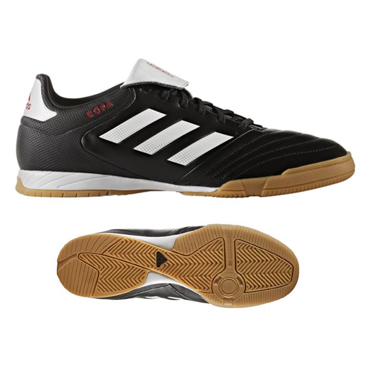 3ef3dadb6 adidas Copa 17.3 Indoor Soccer Shoes (Black White)   SoccerEvolution