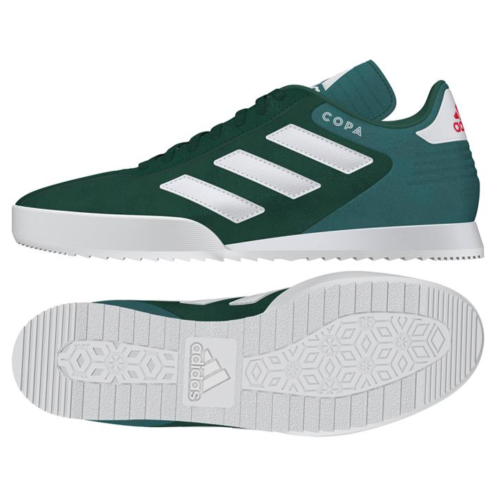 0fa4cc20c37 adidas Copa Super Indoor Soccer Shoes (Collegiate Green ...