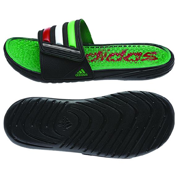 46ad34efdcac adidas Mexico Retrossage Soccer Sandal   Slide   SoccerEvolution
