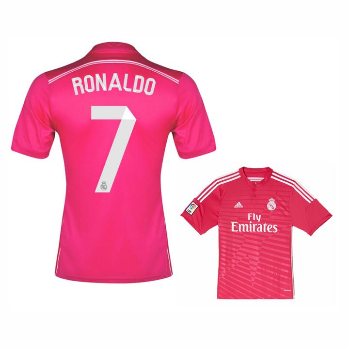 adidas Real Madrid Cristiano Ronaldo  7 Soccer Jersey (Away 14 15 ... cf26d9b29
