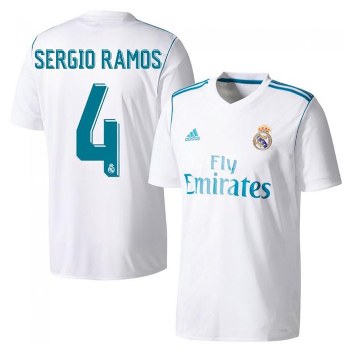 19362f519 adidas Real Madrid Sergio Ramos #4 Soccer Jersey (Home 17/18 ...