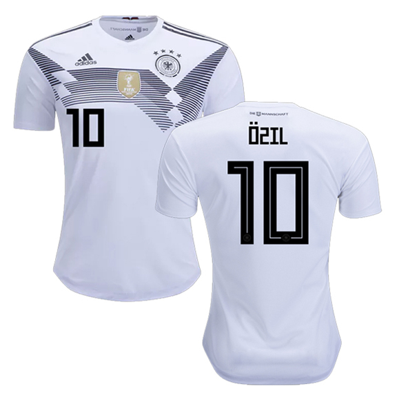 03ce4b566 adidas Youth Germany Ozil  10 World Cup 2018 Jersey (Home ...
