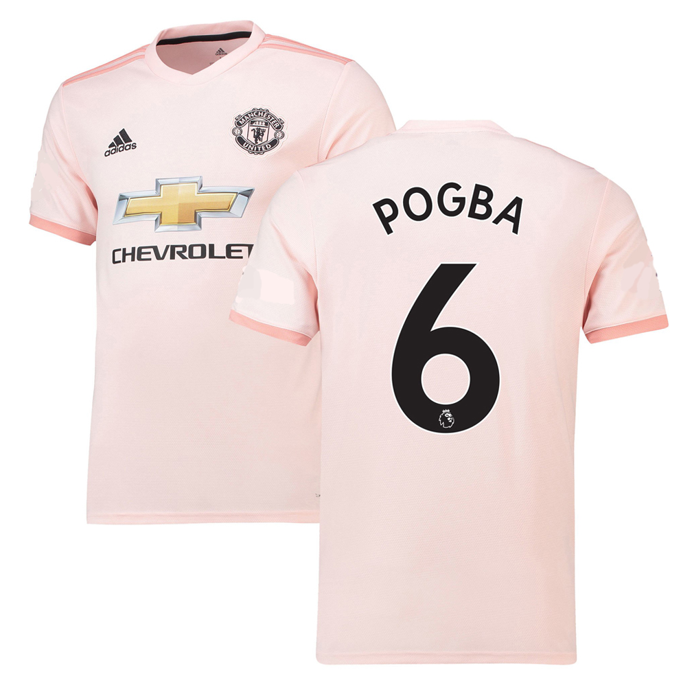 8477ad3c8 adidas Manchester United Pogba  6 Soccer Jersey (Away 18 19 ...