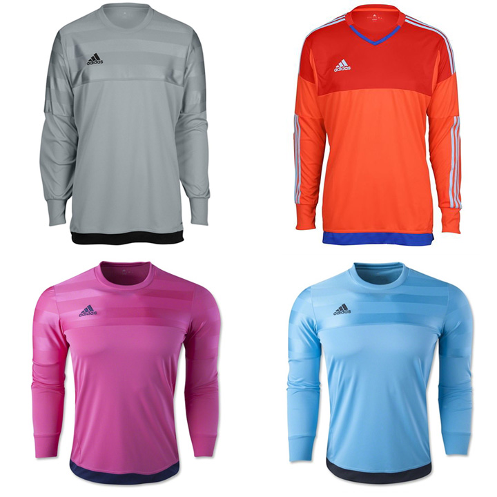 115c2646ae7 adidas Entry 15 Soccer Goalkeeper Jersey @ SoccerEvolution