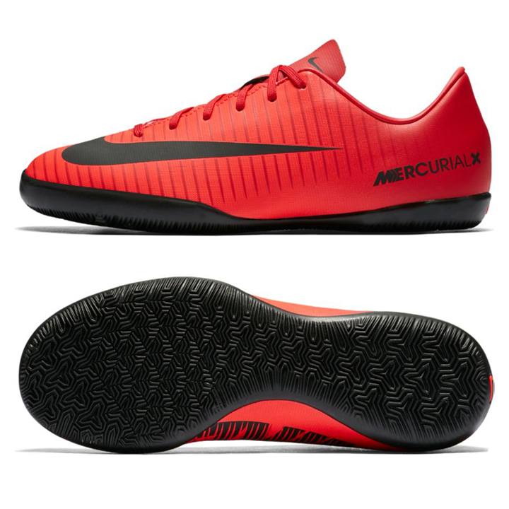 Nike Youth Mercurial Victory Vi Indoor Shoes Crimson