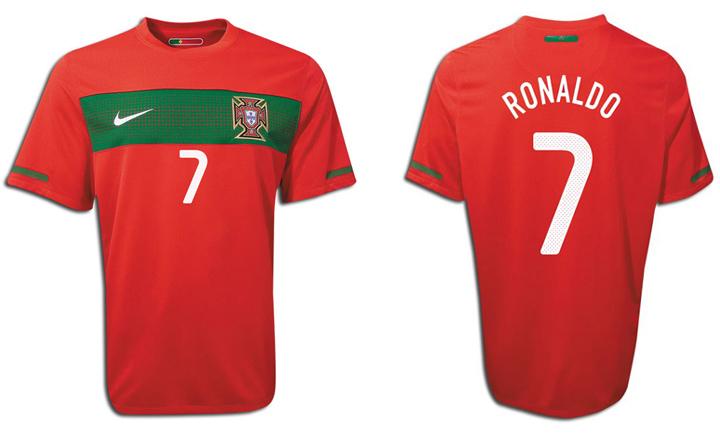 5493d4dd872 Nike Portugal Cristiano Ronaldo #7 Soccer Jersey (Home 10/11 ...