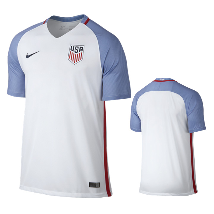 99d6c693f Nike USA Soccer Jersey (Home 16 17)   SoccerEvolution
