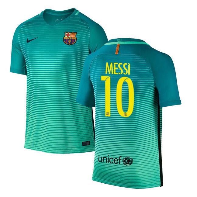 1a4f5b0a7ce6c Nike Barcelona Lionel Messi #10 Vapor Match Jersey (Alternate 16/17 ...