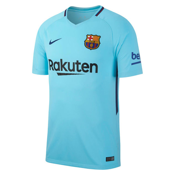 Nike barcelona soccer jersey away 17 18 for Unique home stays jersey