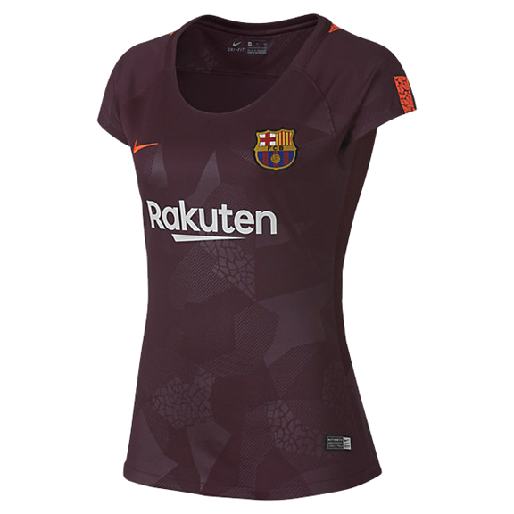 Nike womens barcelona soccer jersey alternate 17 18 for Unique home stays jersey