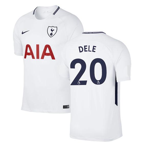 Nike Tottenham Hotspur Dele Alli  20 Soccer Jersey (Home 17 18 ... fa01e34d9