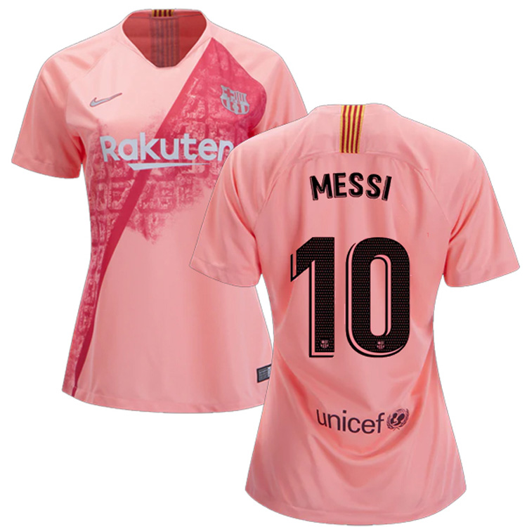 298f89c5d Nike Womens Barcelona Lionel Messi  10 Soccer Jersey (Alternate 18 ...