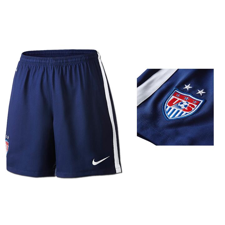 0788c79d0 Nike Womens USA Soccer Short (Away 2015/16) @ SoccerEvolution
