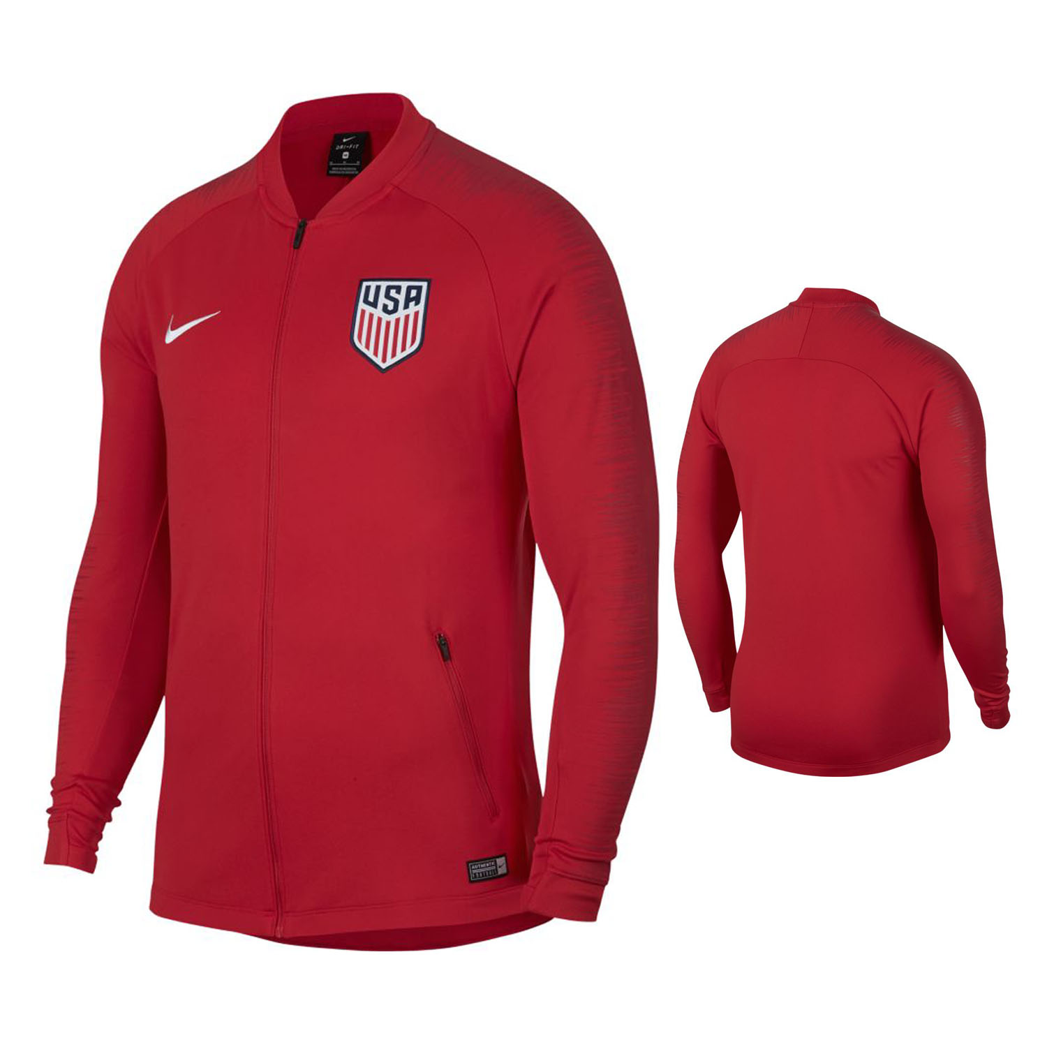 646832d7596 Nike USA Anthem Soccer Track Top (2018 19)   SoccerEvolution