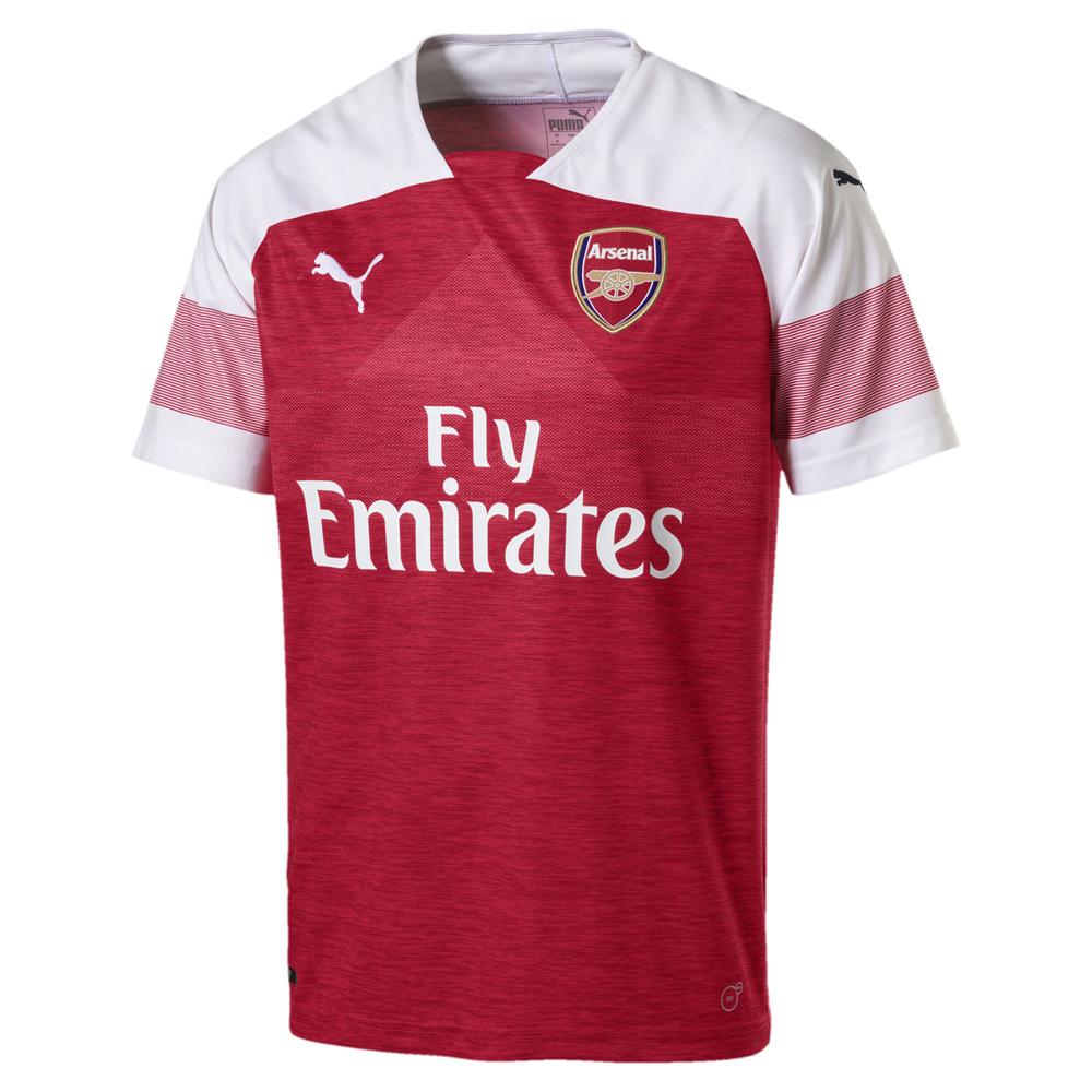 8eabc0c8348 Puma Arsenal Aubameyang  14 Soccer Jersey (Home 18 19)   SoccerEvolution