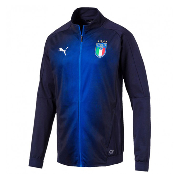 Puma Italy Stadium Soccer Track Top Jacket (Peacoat 17/18 ...