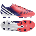 adidas Womens Predator Absolado LZ TRX FG Soccer Shoes (Red)