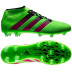 adidas ACE 16.2 PrimeMesh FG/AG Soccer Shoes (Green/Pink)