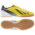 adidas F10 Indoor Soccer Shoes (Vivid Yellow/Black)
