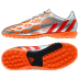 adidas Womens Predito Instinct Turf Soccer Shoes (Silver/Orange)