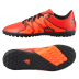 adidas Youth X 15.4 Turf Soccer Shoes (Solar Orange)