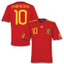 adidas Spain Fabregas #10 Soccer Jersey (Home 10/11)