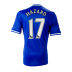 adidas Chelsea Hazard #17 Soccer Jersey (Home 13/14)