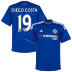 adidas Chelsea Diego Costa  #19 Soccer Jersey (Home 15/16)