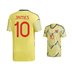 adidas  Colombia  James Rodriguez #10 Soccer Jersey (Home 19/20)