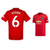 adidas  Manchester United  Pogba #6 Soccer Jersey (Home 19/20)