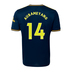 adidas  Arsenal Aubameyang #14 Soccer Jersey (Alternate 19/20)