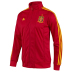 adidas Spain Soccer Track Top (Universal Red/Sunshine 12/13)