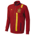 adidas Spain Soccer Track Top (Red/Sunshine 13/14)