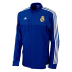 adidas Real Madrid Anthem Soccer Track Top (Bold Blue)