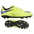 Nike Youth HyperVenom Phelon FG Soccer Shoes (Volt/Black)