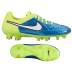 Nike Womens Tiempo Legend V FG Soccer Shoes (Blue Lagoon)